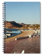 The Beachside Strolling Malecon Spiral Notebook