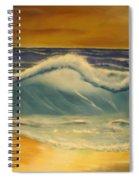 The Big Wave Spiral Notebook
