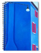 The Blue House Burano Spiral Notebook