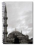 The Blue Mosque Spiral Notebook