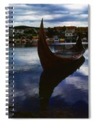 The Boat Spiral Notebook