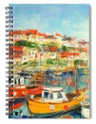 The Brixham Harbour Spiral Notebook
