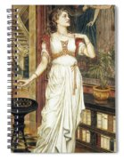 The Crown Of Glory Spiral Notebook