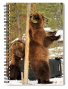 The Dinner Dance Spiral Notebook