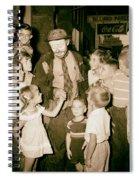 The Famous Clown Emmett Kelly 1956 Spiral Notebook