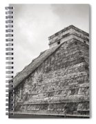 The Famous Kulkulcan Pyramid At Chichen Itza Spiral Notebook