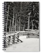 The Fence Of Kovero Spiral Notebook