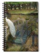 The Foot Bridge Spiral Notebook