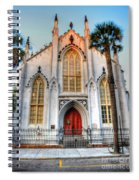 The French Huguenot Church Spiral Notebook