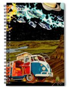 The Gorge Wildhorses Spiral Notebook