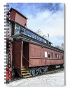 The Grand Trunk Western Depot  Spiral Notebook