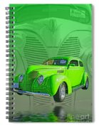 The Green Machine Spiral Notebook