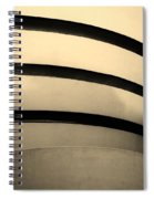 The Guggenheim In Sepia Spiral Notebook