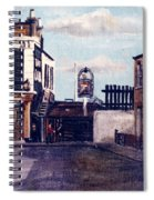 The Gun Public House Isle Of Dogs London Spiral Notebook