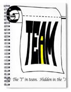 The I In Team Spiral Notebook
