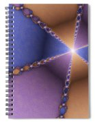 The Journey To The Light Spiral Notebook