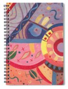The Joy Of Design X V I I I Part 2 Spiral Notebook