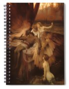 The Lament For Icarus Spiral Notebook