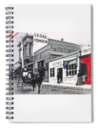 The Legal Tender Saloon 80 W. Congress Tucson Arizona C.1910-2013 Spiral Notebook
