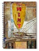 The Mint Spiral Notebook