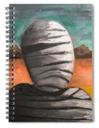 The Mummy And The Curse Of Eternity Spiral Notebook