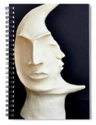 The Mysterious Moon Spiral Notebook