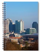 The Nashville Skyline As Viewed Spiral Notebook