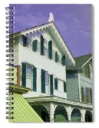 The Painted Ladies Of Cape May Spiral Notebook