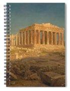 The Parthenon Spiral Notebook