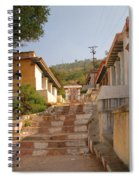 The Path To The Temple Spiral Notebook