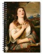 The Penitent Magdalene Spiral Notebook