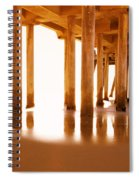 The Pier II Spiral Notebook
