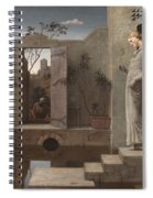 The Pool Of Bethesda Spiral Notebook
