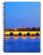 The Roman Bridge In Cordoba Spiral Notebook