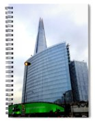The Shard And London Bridge Station Spiral Notebook