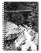 The Sinks Smoky Mountains Bw Spiral Notebook