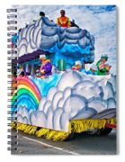 The Spirit Of Mardi Gras Spiral Notebook
