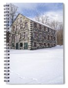 The Stone Mill At The Enfield Shaker Museum Spiral Notebook