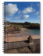 The Strand Inn And Dunmore Strand Spiral Notebook