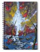 The Stream Of Light Spiral Notebook