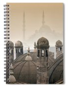 The Suleymaniye Mosque And New Mosque In The Backround Spiral Notebook