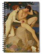 The Temptation Spiral Notebook
