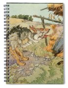 The Three Little Pigs Spiral Notebook