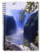 The Victoria Falls Spiral Notebook