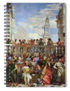 The Wedding At Cana Spiral Notebook
