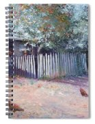 The White Picket Fence Spiral Notebook