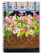The Window Box Spiral Notebook