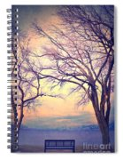 The Yesterday Bench Spiral Notebook