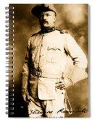Theodore Roosevelt 1898 Spiral Notebook