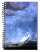 There Be A Storm A Brewin In Nebraska Spiral Notebook